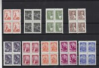 Russia 1948-61 mint never hinged Stamps cat £150  Ref 15344