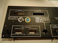 Marantz 2235 Stereo Receiver Parting Out Back Panel