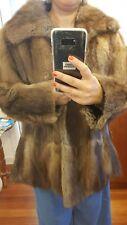 abrigo pelo de peleteria zorro 40 L perfecto estado Blogger Fashionista chic