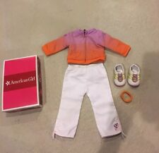 American Girl Doll McKenna Warm-up Outfit Retired In Box EUC