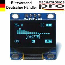 OLED Display I2C IIC 0.96 LCD Blau Arduino Raspberry Pi 128X64 TWI SSD1306