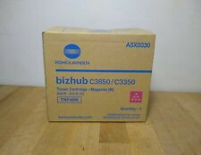 Konica Minolta Bizhub C3850/C3350 Magenta Toner A5X0330 TNP48M - New Open Box