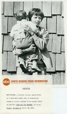 LORETTA LEVERSEE AND BABY JUDD FOR THE DEFENSE ORIGINAL 1967 ABC TV PHOTO