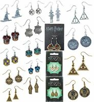 Harry Potter OFFICIAL FANTASTIC BEASTS Earrings The Carat Shop SILVER JEWELLERY