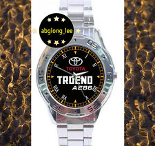 NEW Toyota TRUENO AE86 Classic Muscle Car CUSTOM CHROME MEN'S WATCH WRISTWATCHES