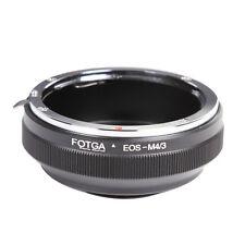 FOTGA Mount Lens to M4/3 Adapter Ring for Canon EOS EF EF-S Len Panasonic Camera