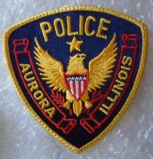 Patch Aurora Illinois Police Patch (105 x 102 mm, New*)