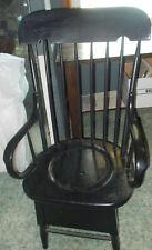 Antique Adult Potty Chair - Functional / Planter - Decorative