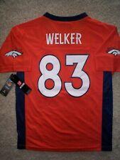Denver Broncos WES WELKER nfl Jersey YOUTH KIDS BOYS (L-LG-LARGE)