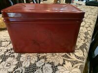 Vintage Tin Bread Box