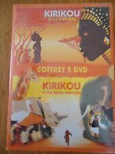 // NEUF COFFRET lot 2 DVD ** KIRIKOU et la sorcière / et les bêtes sauvages **