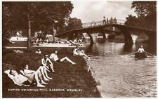 Empire SWimming Pool Gardens Wembley  London unused RP pc Excel