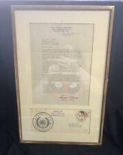 Historic Autograph USS Triton Captain Beach Circumnavigation