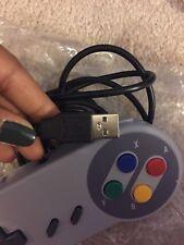 one USB Controller for SNES Super Nintendo Games Retro Classic Gamepad US