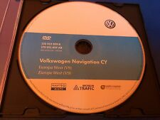Volkswagen Navigation Sat Nav Disc Europe West V9 ORIGINAL