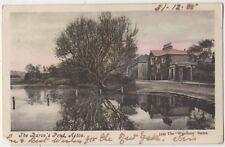 The Barons Pond Acton, London 1906 Wyndham Postcard B815