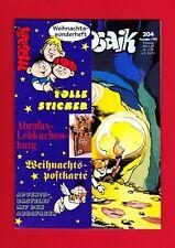 Mosaik Abrafaxe Nr. 204 Dezember 1992 Heisse Spur / + Beilagen