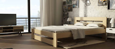 Modern Designer Wood Bed Quality Furniture Double Beds New Bedroom Pads