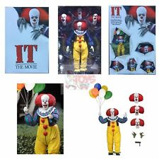 "ULTIMATE PENNYWISE Neca STEPHEN KING (1990 IT MOVIE) 2018 7"" Inch Action FIGURE"