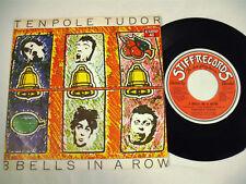 "TENPOLE TUDOR 3 Bells In A Row  7"""
