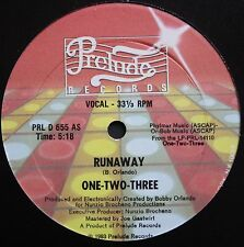 "One-Two-Three Bobby Orlando Prelude Disco 12"" Single 1983"
