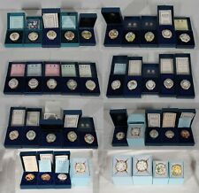 """Collection Of 37 Halcyon Days Mothers Day Annual Enamel Boxes"""" Fe"""" 1975 - 2011"""