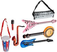 Rock Band Inflate Instrument Set (24 Pack)