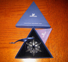 Swarovski Crystal Ornament 2007