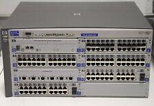 HP ProCurve J4865A 4108gl Switch w/ 3x 4862A 2x J4908A J4839A 1x J4864A J4863A