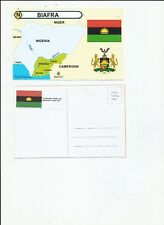 Biafra Government in exile postcard