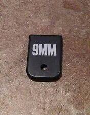Custom Engraved 9 MM Magazine Base Plate for Glock 9mm .40 cal 357