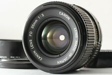 【Exc+5 w/ Hood】 Canon New FD NFD 35mm f/2 MF Wide Angle Lens from JAPAN #2001