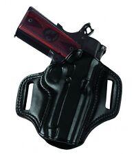 "Galco CM212B Combat Master Belt Holster, Black – Colt 1911 5"""