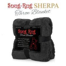 Genuine Snug Rug ™ Luxury BLANKET Warm Soft Throw Fleece Official 270gsm Sherpa