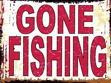Gone Fishing Decorative Wall Plaques