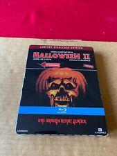HALLOWEEN II 2 Ltd Ed Steelbook Reg Free BLU RAY New/Sealed + Lights + Music