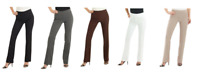 Rekucci Ladies Ease into Comfort Bootcut Trousers