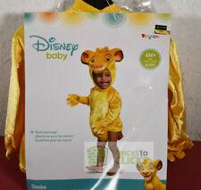 Halloween Costume Dress-Up Disney Baby Lion King Simba 6-12 Months