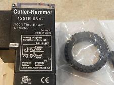 Cutler Hammer-Eaton 1151E-6547 Source, Through-beam, 500 ft 10-40 vdc