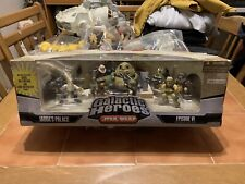 Star Wars Galactic Heroes Jabba's Palace Cinema Scene Boxed Good Condition