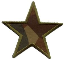 MILITARY STAR  IRON ON PATCH APPLIQUE 2x 2 inch