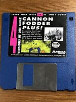 Amiga Power Magazine Issue 31 Original Cover Demo Disk TESTED Cannon Fodder Plus