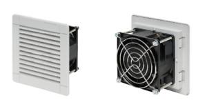 VENTOLA Gruppo di ventilazione ALFAA500BPB 24 m^3/hr 114x114x57mm bianca