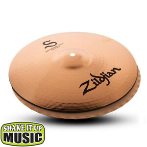 "Zildjian S Family 14"" Mastersound Hi Hat Cymbals"