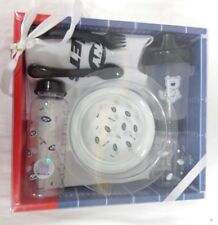 New York Jets Football Baby Bottle Toddler Dishes Silverware Bib Gift Set