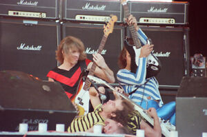 """Scorpions 12""""""""*8"""" colour concert photo - Donington 1980"""