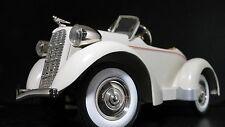 Pedal Car 1930s Sport Duesenberg Rare Show Vintage Midget Model Off White