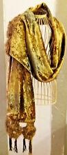 Scialle stola pashmina fiori  uncinetto fatto a mano crochet bohoc shabby