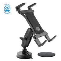 Windshield or Dash Heavy-Duty Sticky Suction Tablet Mount for Apple iPad Samsung