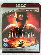 The Chronicles Of Riddick - Directpr's Cut - HD DVD - UK - Region Free - Diesel